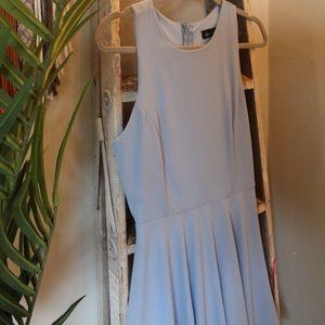 Lulu's Skater Sky Blue Dress